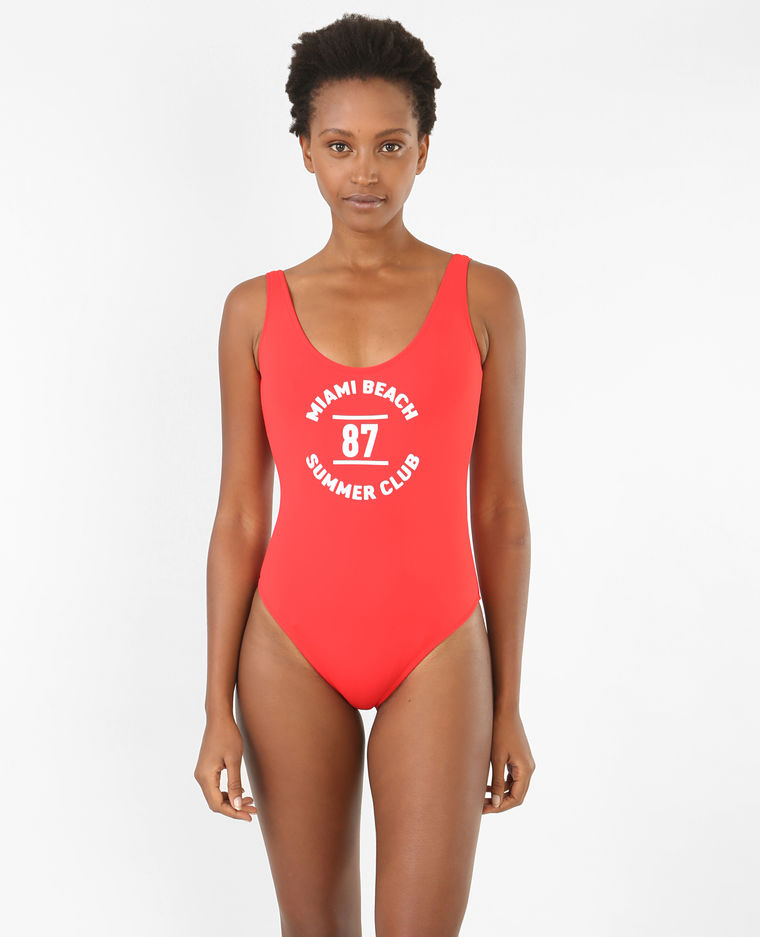 0870ae3ac7 ᐅ Maillot de bain rouge : Comparatif, test, avis Collection 2019