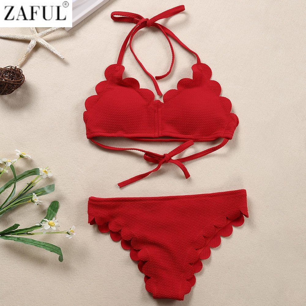 aa62bac192 ᐅ Maillot de bain zaful rouge : Comparatif, test, avis Collection 2019